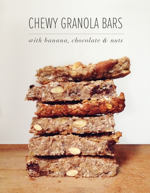 Chewy Granola Bar Recipe | Julia Francesca