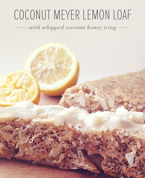 Coconut Meyer Lemon Loaf Recipe | Julia Francesca